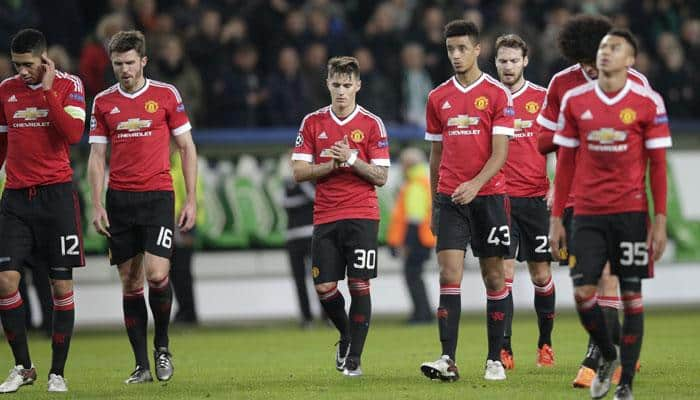 Champions League: Manchester United crash out as Wolfsburg, PSV reach last 16