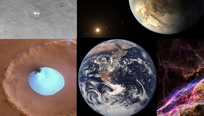 Top five amazing space discoveries of 2015
