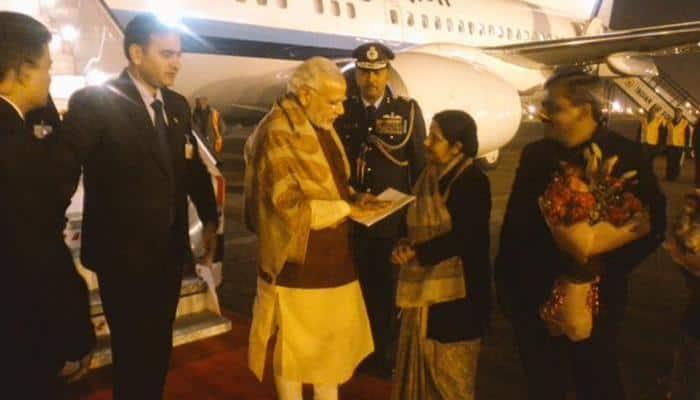 PM Modi reaches Delhi after Lahore visit, Pakistan welcomes India's initiative