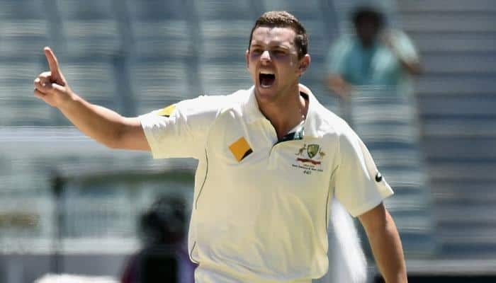 VIDEO: Josh Hazlewood's bowls fastest delivery in Test match history at 164 kph