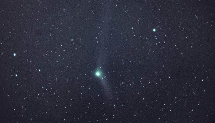 Wish Happy New Year to rare comet on January 1