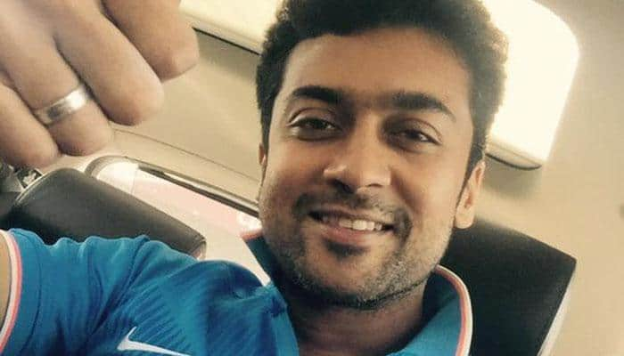 Suriya reveals first look of 'S3'