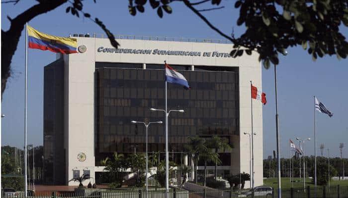 Paraguay officials raid South American soccer confederation CONMEBOL