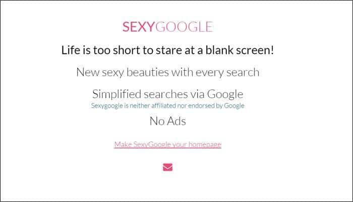 Explore Internet in a new way through Sexy Google!