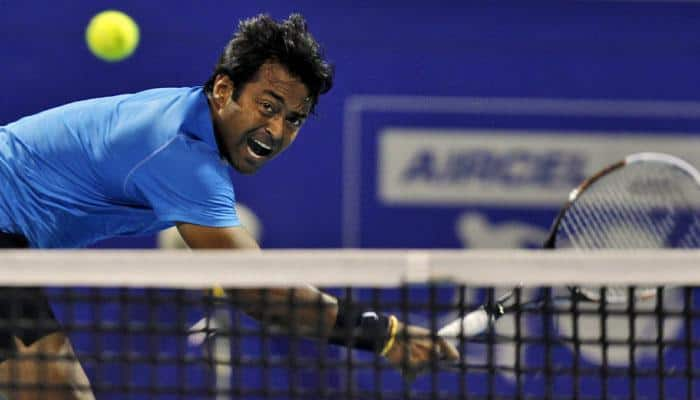 Leander Paes suffers first-round loss in Sydney International