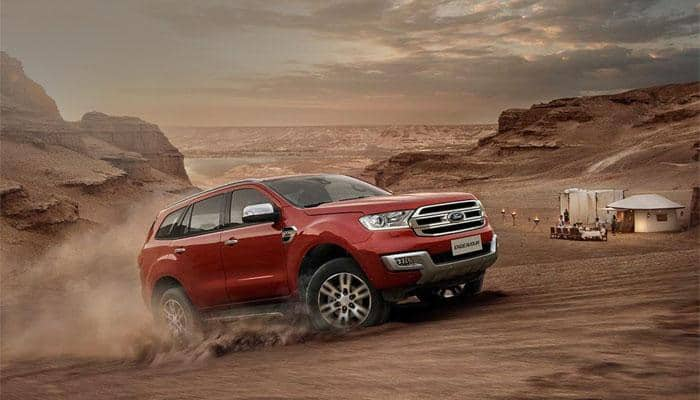 Ford new Endeavour price - Latest News on Ford new Endeavour