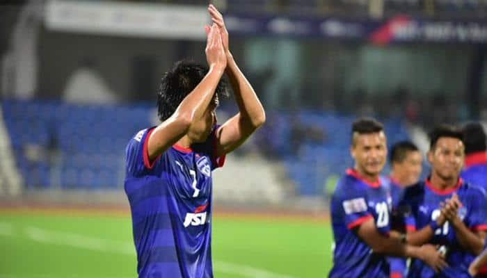 Bengaluru FC ease to 3-0 win over Shillong Lajong, move to top of table