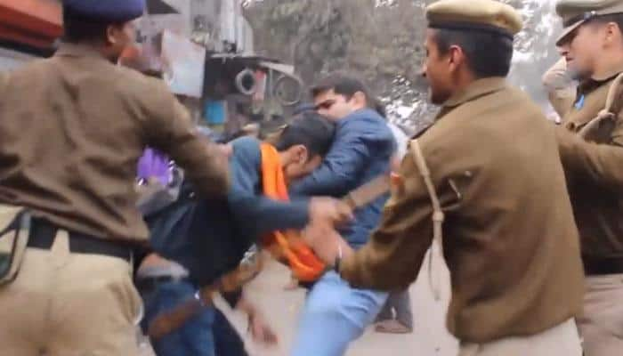 AAP releases video accusing Delhi cops of brutality against women students