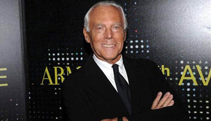 I would love to watch my first fashion show: Giorgio Armani