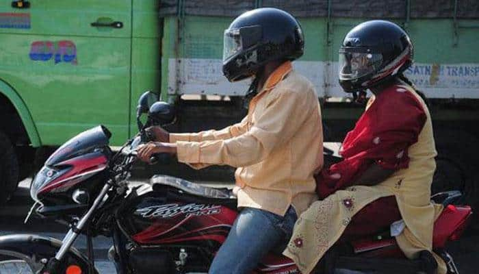 Helmet must for pillion riders in Maharashtra