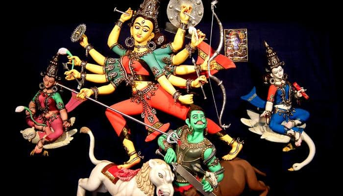 How Mahishasura Invited Death By Undermining Woman Power Durga Spirituality News Zee News