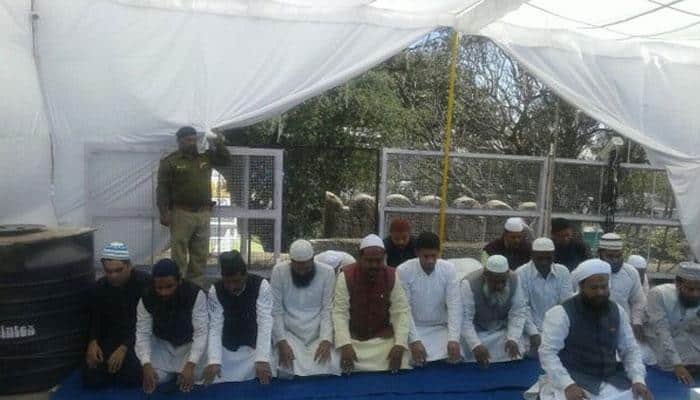 Situation remains tensed but peaceful at Bhojshala in MP, both groups offer prayers at disputed site