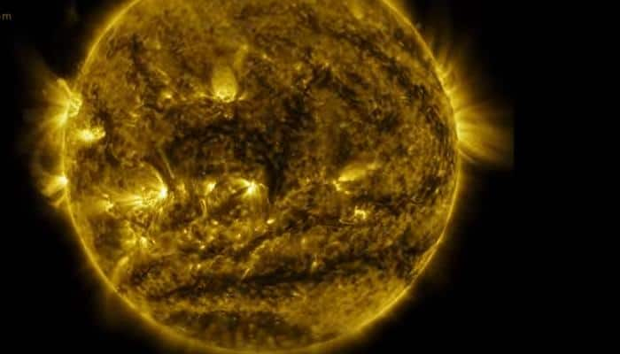 Watch: Time-lapse video shows one year of sun's activity in six minutes!