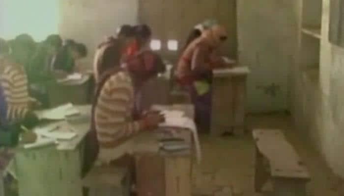 Mass cheating in Mathura during Uttar Pradesh Board Exams; 57 students, 14 teachers booked: Video