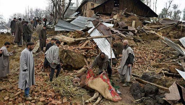 Landslides in Jammu, National Highway closed