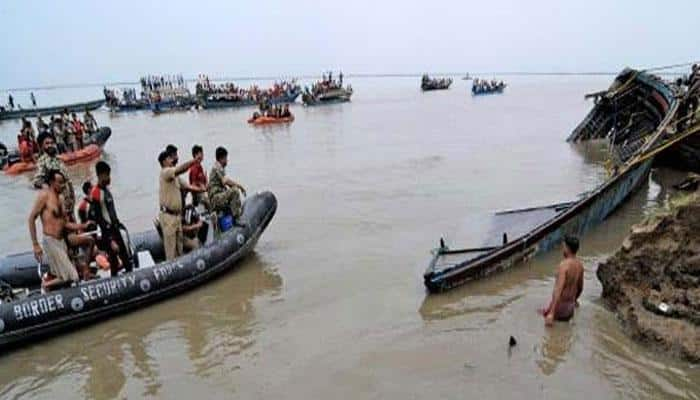 Boat capsizes in Begusarai, bodies of five children recovered
