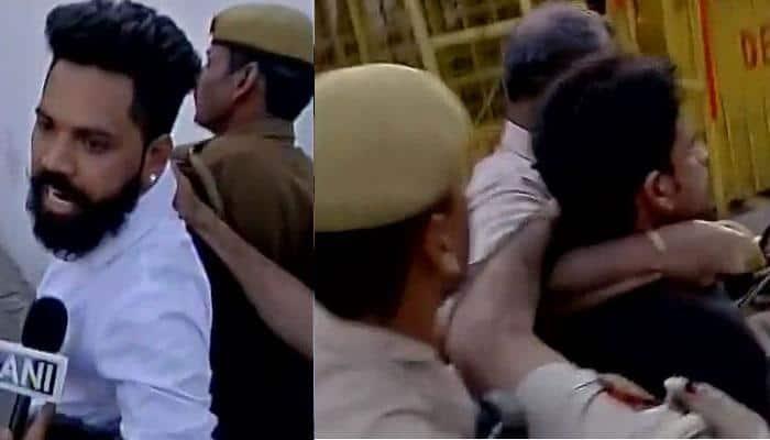 JNU row: Kanhaiya Kumar threatened by three men during Mandi House protest