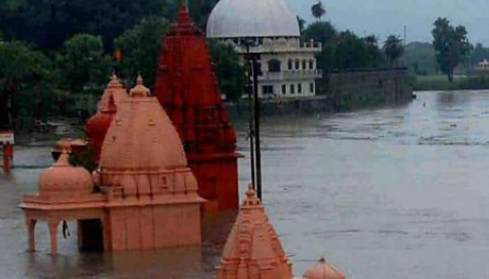Submerged temples rise after more than three decades in Maharashtra