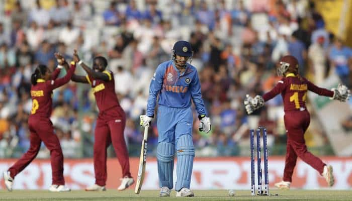 Indian eves crash out of ICC World Twenty20 after 3-run defeat against West Indies