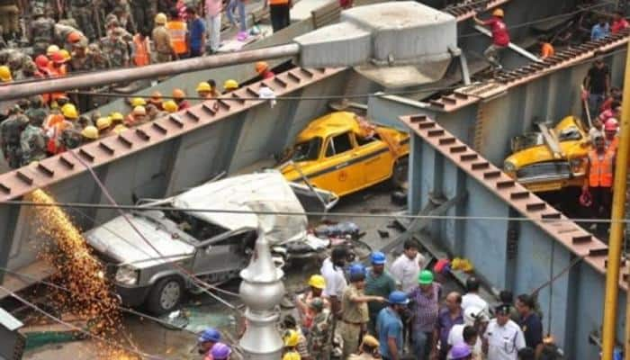 Kolkata's worst flyover tragedy: Three IVRCL officials held on murder charges, 24 dead