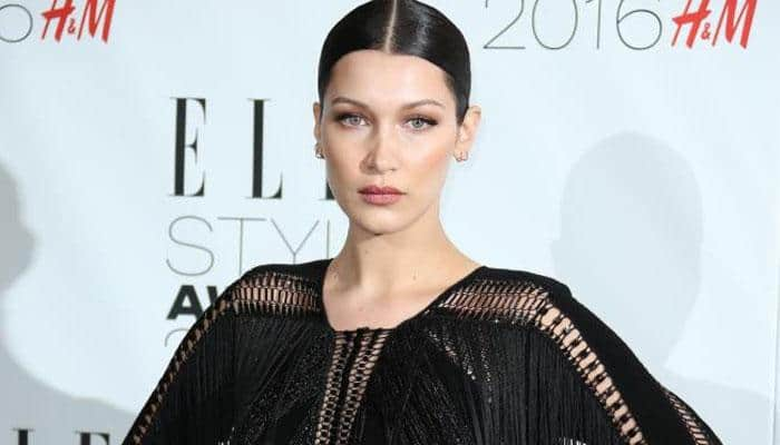 Bella Hadid goes topless for shoot