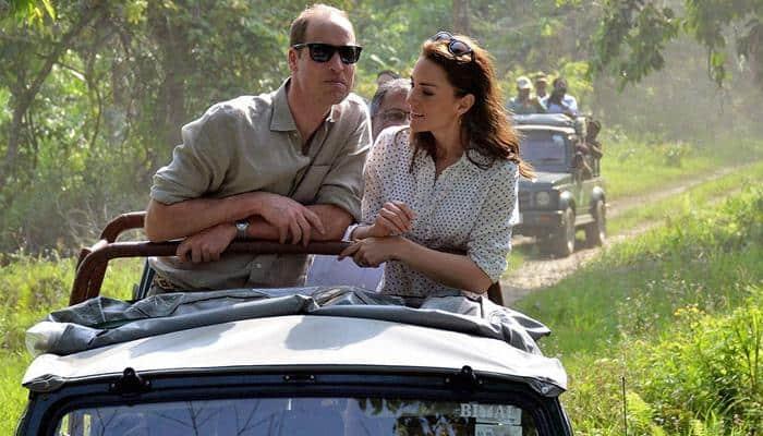 Prince William, Kate Middleton take jeep safari in Kaziranga