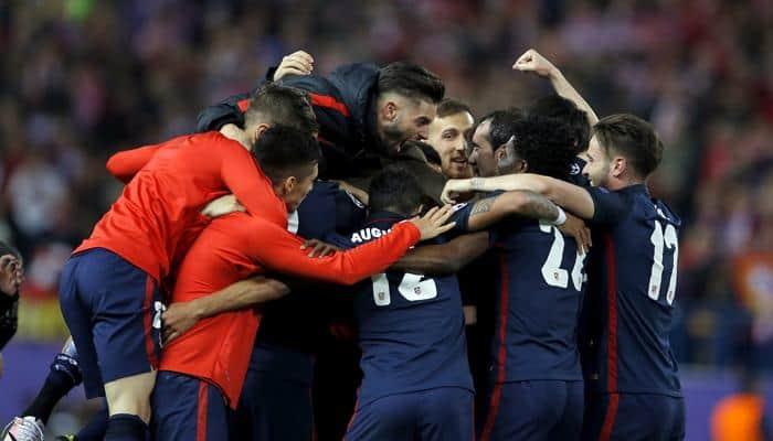 Champions League: Atletico Madrid reach semis as Antoine Griezmann double knocks out FC Barcelona