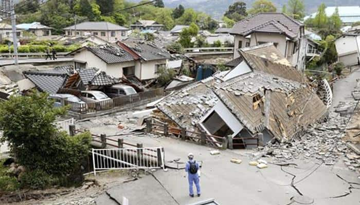 Second deadly earthquake hits southern Japan, rescuers race against time
