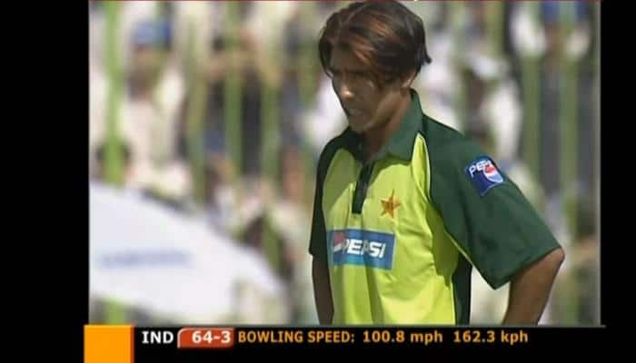 Watch and decide - Mohammad Sami and not Shoaib Akhtar bowled fastest ball in cricket history?