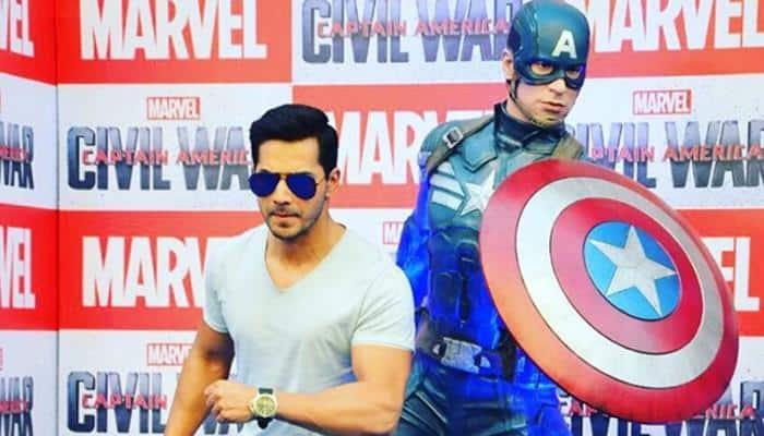 Varun Dhawan likes Captain America for being 'old school type'