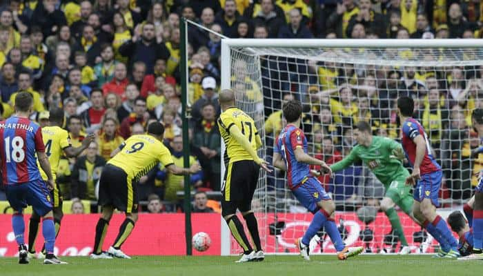 FA Cup: Crystal Palace beat Watford to book final date with Manchester United