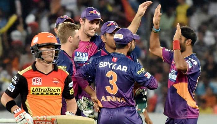 IPL 9: After four successive losses, Rising Pune Supergiants begin road to recovery with 34-run win over Sunrisers Hyderabad​