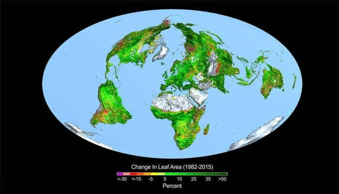 Earth getting greener due to carbon dioxide fertilization- Watch