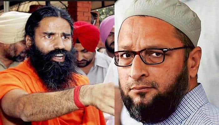 Bharat Mata ki Jai row: 'Does Constitution say follow Islam, read Quran?' - Baba Ramdev blasts Asaduddin Owaisi
