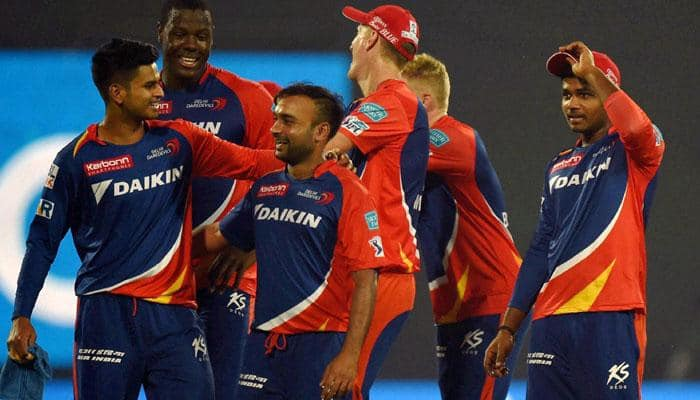 VIDEO: Watch Amit Mishra's sensational catch off Andre Russell during Kolkata Knight Riders vs Delhi Daredevils match