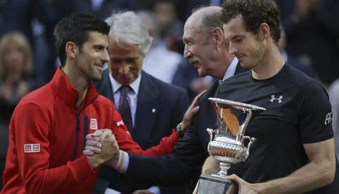 Andy Murray conquers Novak Djokovic for first Rome Masters title, Serena Williams wins Italian Open