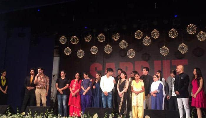Emotional musical evening for 'Sarbjit' cast, Sarabjit family