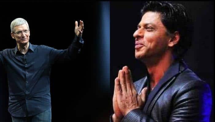 When Shah Rukh Khan called Tim Cook a rockstar