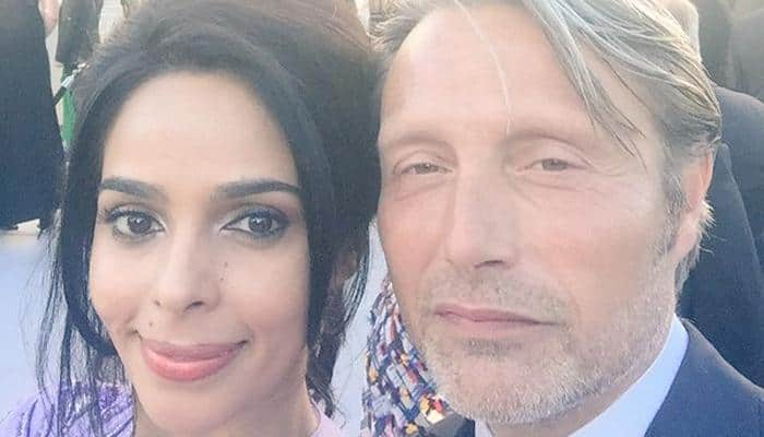 Cannes 2016: Mallika Sherawat's selfie with Mads Mikkelsen will sure make you jealous!