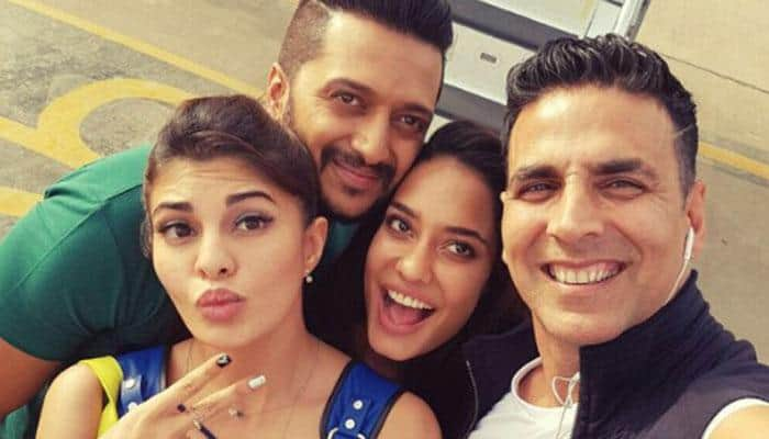 Picture blast! 'Housefull3' gang gate-crashed Asin's house at midnight