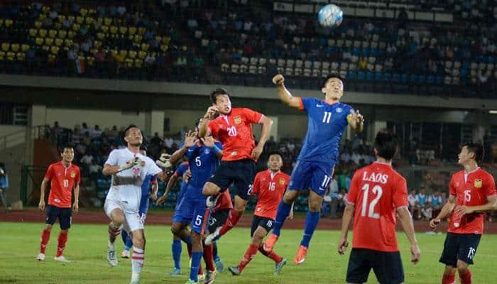 India thrash Laos 6-1, book Asian Cup Qualifiers berth