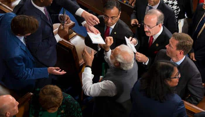 Know why no one took selfies with PM Narendra Modi at the US Capitol