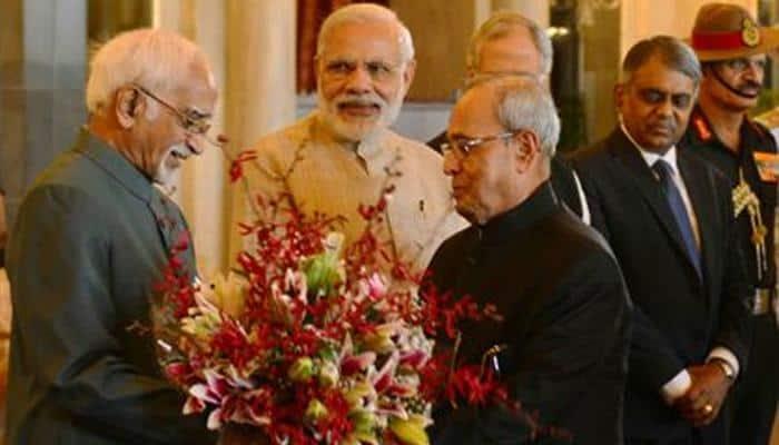 Ceremonial departure for President Pranab Mukherjee ahead of three-nation tour