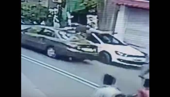 DISTURBING VIDEO: CCTV footage of hit-and-run in Delhi's Janakpuri - Weak-hearted people SHOULDN'T WATCH
