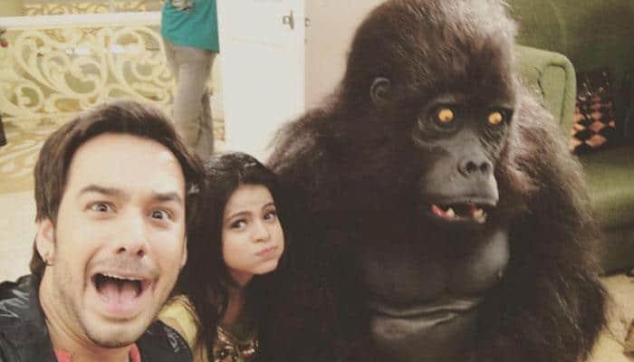 Logic level: Indian television! A gorilla falls in love with 'Thapki Pyar Ki' actress