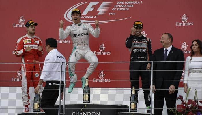 European Grand Prix: Nico Rosberg cruises to victory in Azerbaijan