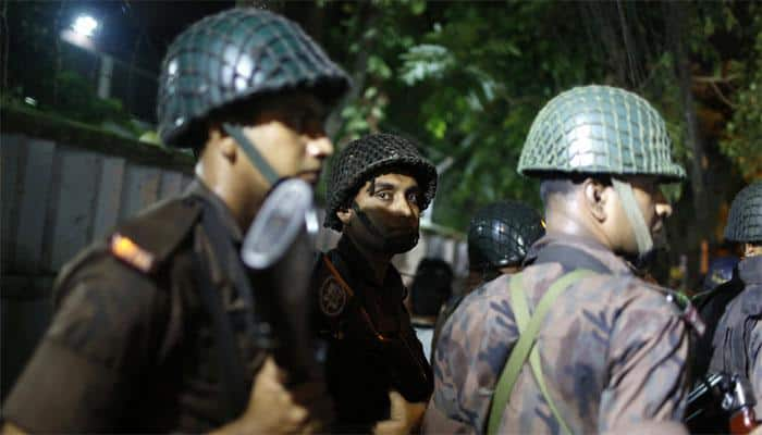 Hostage crisis in Dhaka after gunmen attack restaurant in diplomatic zone
