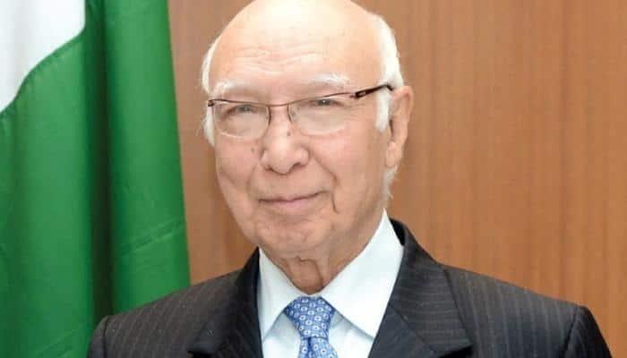 US cooperation with India should not increase strategic gap between India and Pakistan: Sartaj Aziz