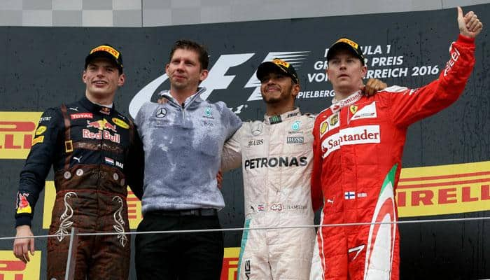 Austrian Grand Prix: Lewis Hamilton wins after last lap Nico Rosberg crash