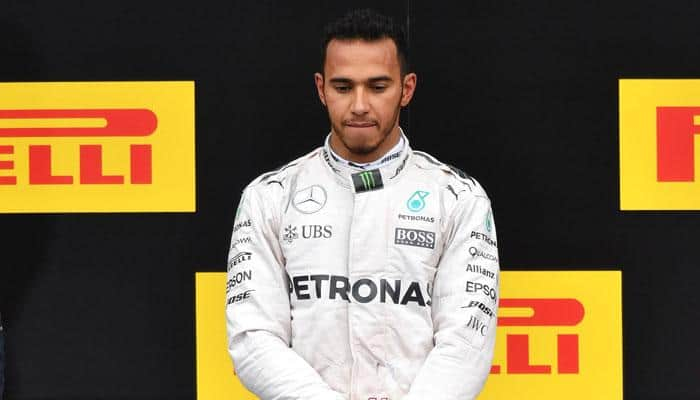 Austrian Grand Prix: Triumphant Lewis Hamilton booed after collision with Mercedes team mate Nico Rosberg